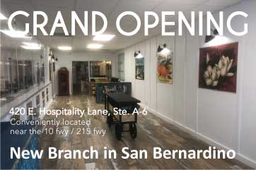 New Branch in San Bernadino Grand Opening